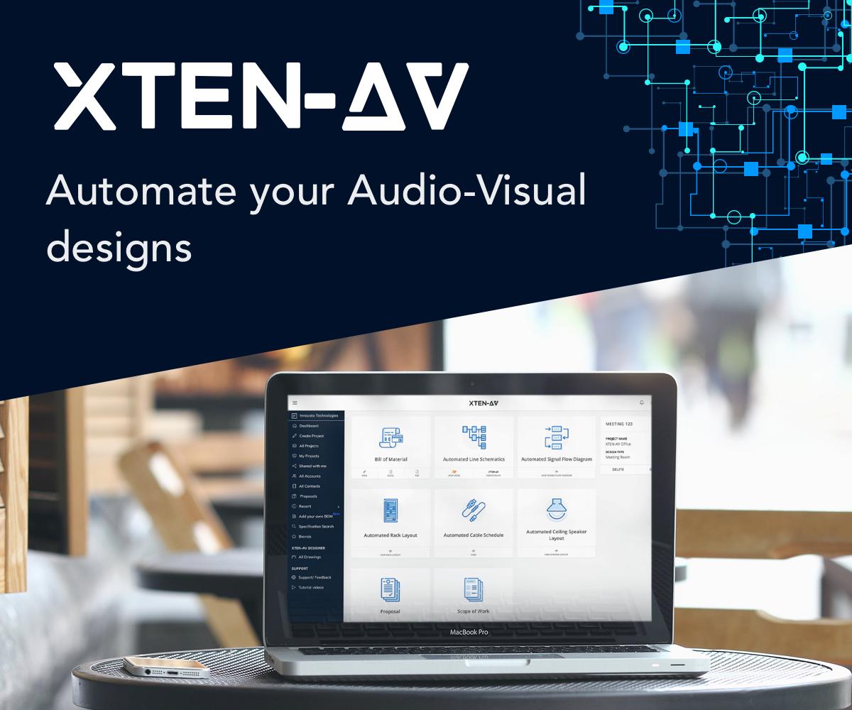Revolutionary AV Design - XTEN-AV on
